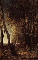 Dante and Virgil, 1859, corot
