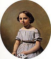 The Eldest Daughter of M. Edouard Delalain (Mme. de Graet), c.1850, corot