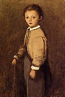 Fernand Corot, the Painter s Grand Nephew, at the Age of 4 and a Half Years, 1863, corot