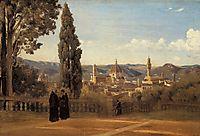 Florence, The Boboli Gardens, c.1835, corot