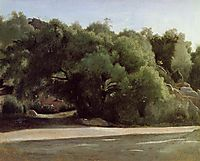 Fontainebleau, the Road to Chailly, c.1824, corot