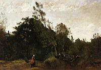 Forest Clearing in the Limousin, c.1850, corot