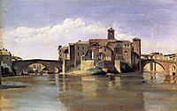 Island of San Bartolommeo, 1828, corot