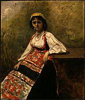 Italian Girl, c.1872, corot