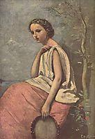 La Zingara, c.1870, corot