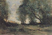 Landscape, c.1860, corot