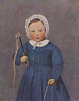 Louis Robert as a Child, 1844, corot