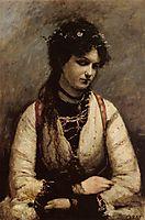 Mademoiselle de Foudras, 1872, corot