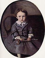 Maurice Robert as a Child, 1857, corot