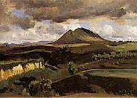 Mont Soracte, c.1827, corot