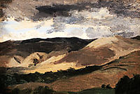 Mountains of  Auvergne, corot