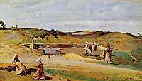 Mur (Cotes du Nord), 1855, corot