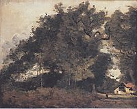Passiance, in Saint Avit, 1872, corot