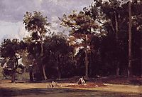 The Paver of the Chailly, 1835, corot