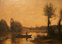 The Pond at Ville d-Avray, 1860, corot