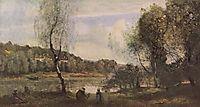 Pond of Ville d-Avray, 1873, corot