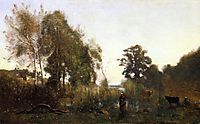 The Ponds of Ville d-Avray, c.1867, corot