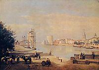 The Port of La Rochelle, 1851, corot