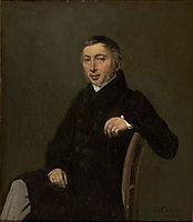 Portrait of Laurent Denis Sennegon, 1842, corot