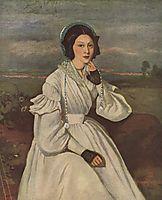 Portrait of Louise Claire Sennegon, future Madame Charmois, 1837, corot