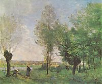 Recollections of Coubron, 1872, corot
