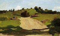 A Rising Path, c.1845, corot
