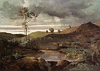 The Roman Campagna in Winter, c.1830, corot