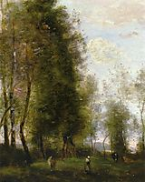 A Shady Resting Place, 1873, corot