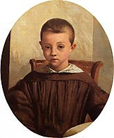The Son of M. Edouard Delalain, 1850, corot
