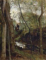 Stream in the Woods, c.1860, corot