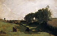 Valley, 1855-60, corot