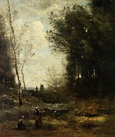 The Valley, 1871, corot