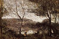 Ville d-Avray, 1870, corot