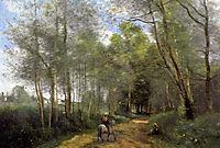Ville d-Avray, 1873, corot