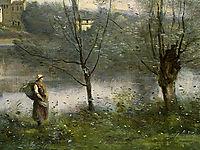 Ville d-Avray, c.1870, corot
