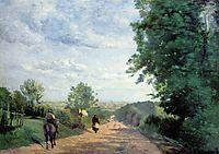Way to Sèvres, 1865, corot