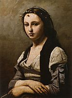 Woman with a Pearl, 1868-70, corot