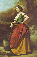 Young Woman at the Well, 1870, corot