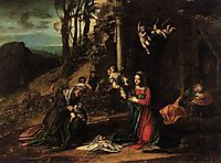 Adoration of the Christ Child, c.1515, correggio