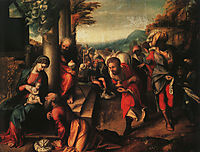 The Adoration of the Magi, 1518, correggio
