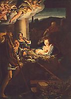 Adoration of the Shepherds (The Holy Night), 1530, correggio