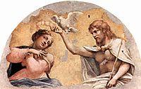 Coronation Scene, 1521, correggio