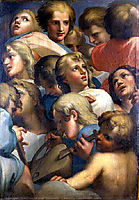 Group of angels from Corrège, correggio