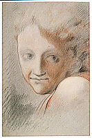 Head of an Angel, correggio