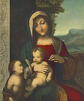 Madonna, 1514, correggio