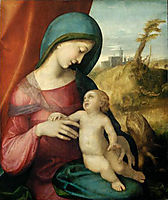 Madonna and Child, 1514, correggio