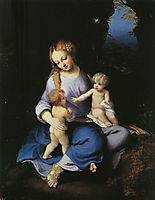 Madonna and Child with the Young Saint John, 1516, correggio
