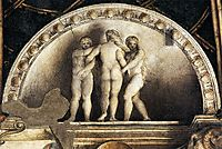 Three Graces, c.1519, correggio