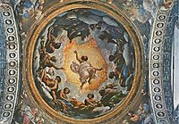 The Vision of St. John on Patmos, 1523, correggio