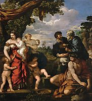 The Alliance of Jacob and Laban, 1635, cortona